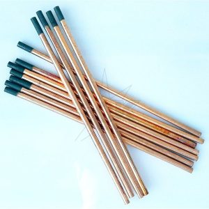Электроды угольные омедненные д. 10,0 мм